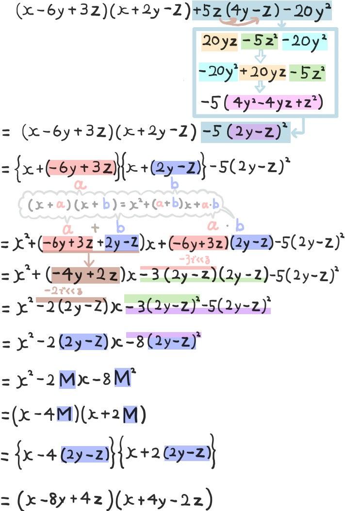 因数分解の超難問の解説:高校入試数学