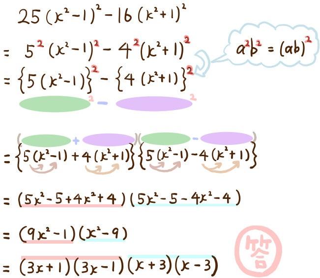 因数分解の難問:高校入試1