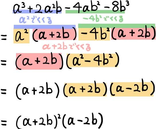 関西学院高等部の因数分解の解説