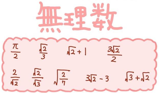 有理数と無理数の四則演算